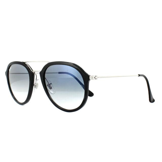 548ab2db7c Ray-Ban Sunglasses 4253 62923f Black Silver Light Blue Gradient