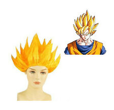 ORO Giallo Cosplay Costume Parrucca DRAGON BALL Z GOKU Giapponese Anime Parrucca