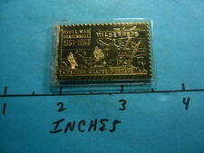 CIVIL WAR 1864-1964 100TH ANNIVER STAMP COMMEMORATIVE 999 SILVER BAR COIN RARE