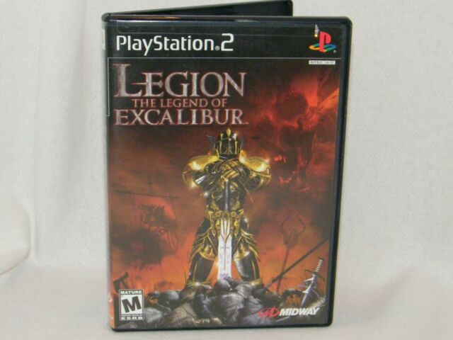Legion:The Legend of Excalibur - Sony PlayStation 2 / PS2 Game