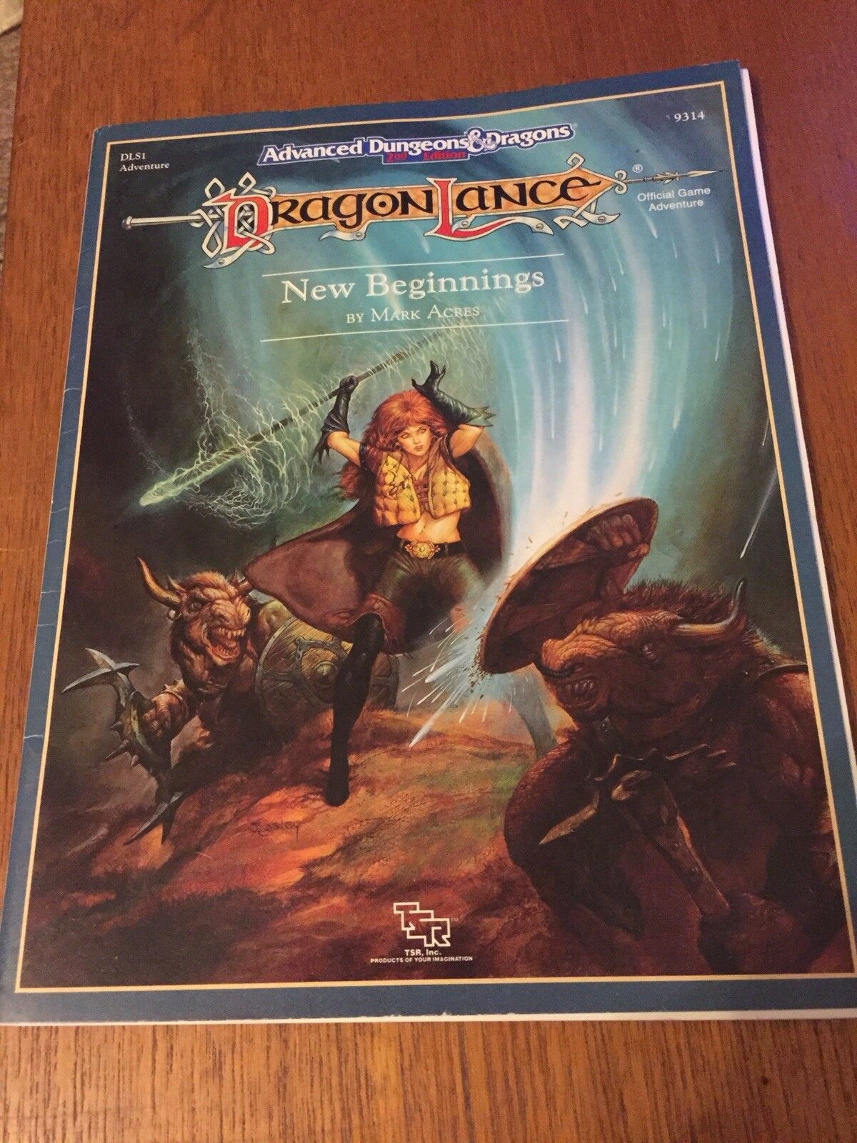 Advanced Dungeons and Dragons, Dragon Dragon Dragon Lance, New Beginnings DLS1 Adventure 07eba4