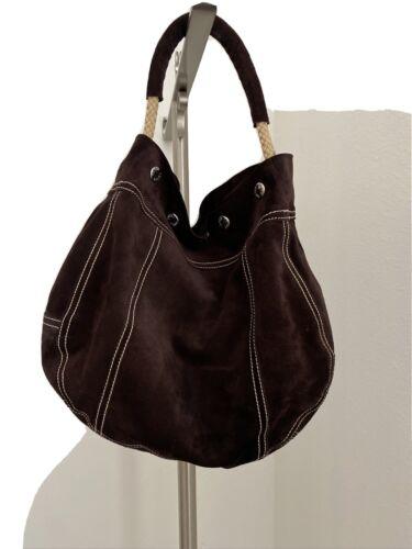 Prada Suede Hobo Handbag