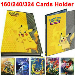 Pikachu-Ultra-Pro-Pokemon-Trading-Card-Folder-160-Pockets-Portfolio-Binder-Album