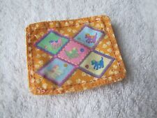 Rare Fisher Price Loving Family Dollhouse PET MAT BED PUPPY DOG CAT ANIMALS Cute