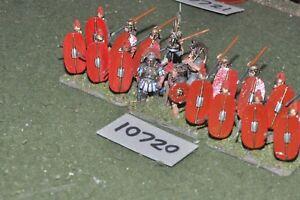 Légionnaires romains de 25 mm 18 figurines (10720)