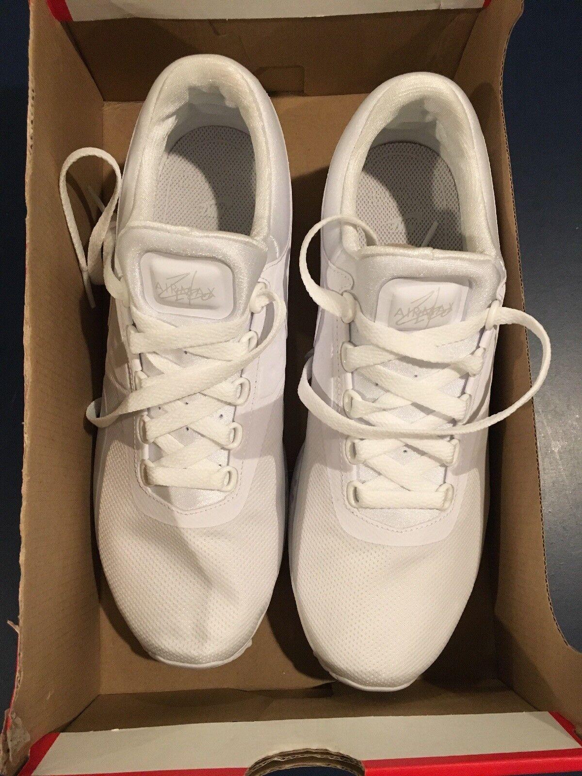 Nike W Air Max Zero White SZ & Pure Platinum Women SZ White 9.5 59b821