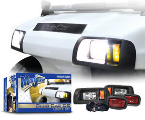 Details about Golf Cart Club Car DS Light Kit FREE SHIPPING Easy Install  Hardware Included