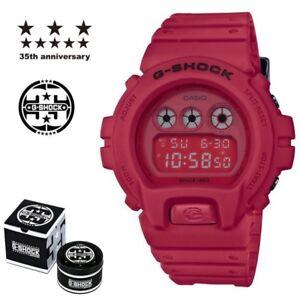CASIO G SHOCK X rouge hors série 35TH anniversaire DW 6935C  W2I8d
