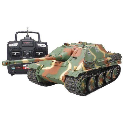 Tanque de Tamiya 1 16 RC serie No.23 cazacarros conjunto completo de operación
