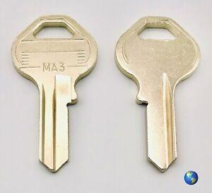 MA3 Key Blanks for Various Padlocks by Master Lock 5 Keys