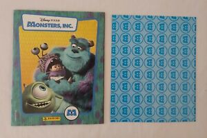 2001 Panini Disney Pixar Monsters Inc. Sticker Album Complete Set with Poster