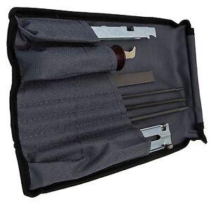 Chaîne tronçonneuse Kit d'affûtage C/W Files, JAUGE plat, pour tous fabricants