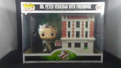 POP Peter Venkman with Firehouse Ghostbusters #03 Dr Town