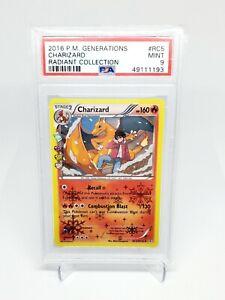Charizard #RC5 - 2016 Pokemon Generations Radiant Collection - PSA 9 MINT