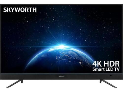 "SKYWORTH 43U5A 43/"" LED 4K Ultra HD Android 7.0 TV w// Voice Control Remote"