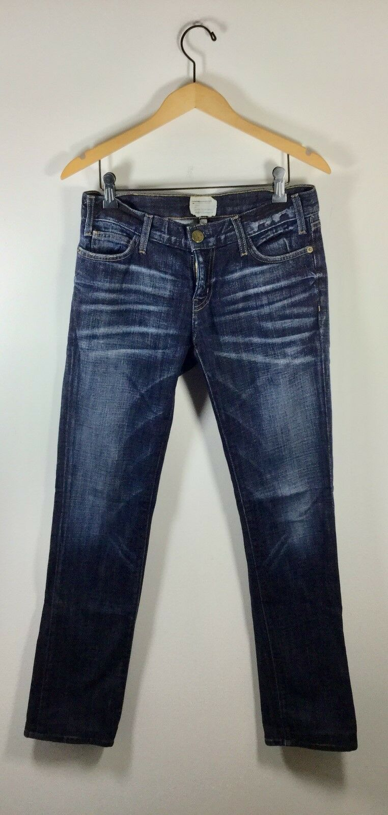 CURRENT ELLIOTT Medium Wash Size 27 Straight Leg Denim Jeans