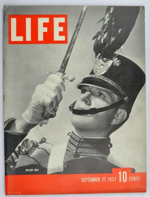 Vintage Life Magazine 1937 September 27 Miss America K.K.K. Marine Biologists