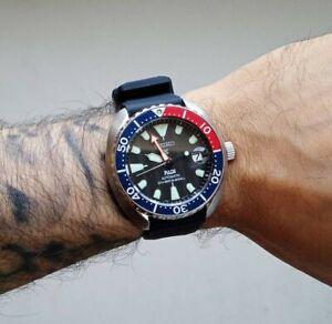 Seiko Mini Turtle Padi SRPC41k1 limited edition pepsi air diver watch automatic!