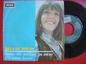 BILLIE-DAVIS-make-the-feeling-go-away-SPAIN-45-DECCA-69-UK-FREAKBEAT-MOD-DANCER