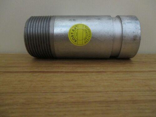 Victaulic Adapter Nippel  Stutzen für Grundfos Pipe CRN 42,4 mm 40 BSPT  VP 45