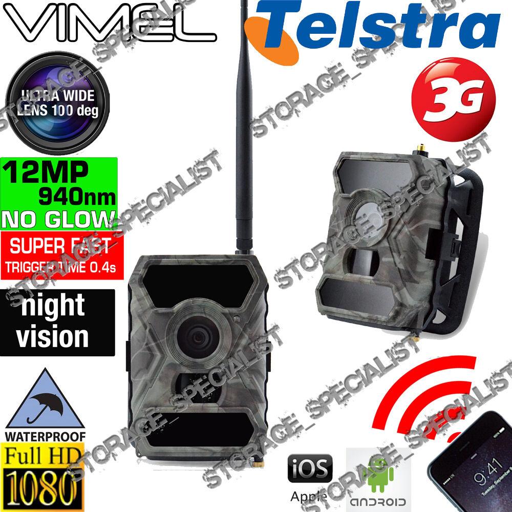 Cámara De Trail Seguridad Hogar Caza Scout Cam Wireless 940nm ir no Espía Oculto