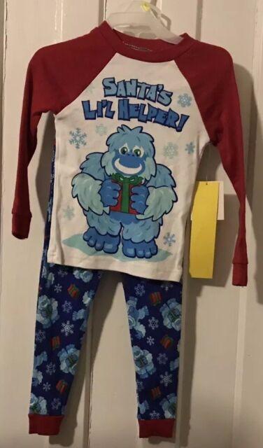 66757f140 Toddler Santa s Little Helper Christmas Sleepwear Pajama Set 3T ...