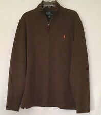 a38af0144 Supreme Fall Winter 2017 17 Leather Front Polo Sweater Size L Dark ...