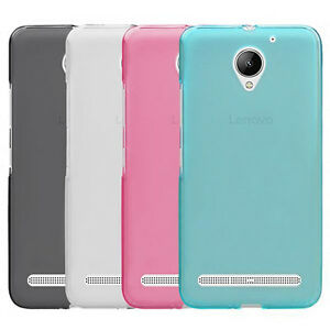 new product fbc75 9e0b5 Details about For Lenovo Vibe C2 C2Power Soft TPU Matte Gel skin Case Back  Cover
