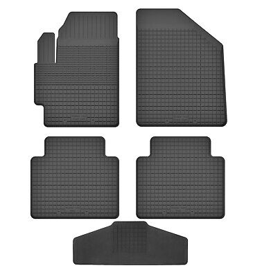 Gummimatten Gummi-Fußmatten für Citroen C3 II-Generation ab 2009