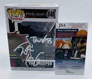 Justin Long Signed Autographed FYE Exclusive Jeepers Creepers Funko POP JSA COA