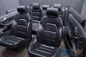 AUDI A6 4F C6 Leather Trim Full Leather Leather sportsitze Interior ...
