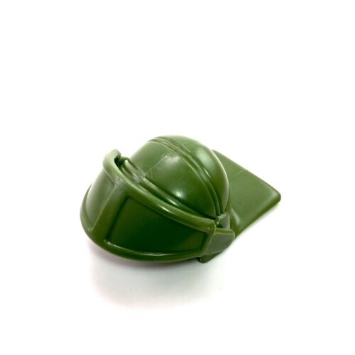 Vintage TMNT Ninja Turtles 1988 Turtle Trooper HELMET WITH VISOR green part