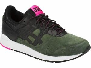 design de qualité a6139 2a0ab Detalles de ASICS GEL LYTE VERT NOIR Baskets Homme Sneakers Forest Green  Black 1193A134-300