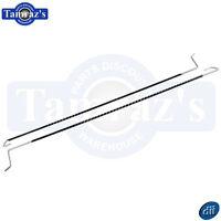 66-67 X Body Trunk Hinge Torsion Rods Tension Springs