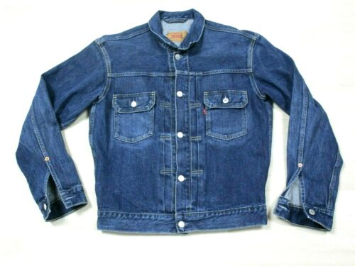 Levis Type 2 Denim Jacket Vintage 1990s Reproducti