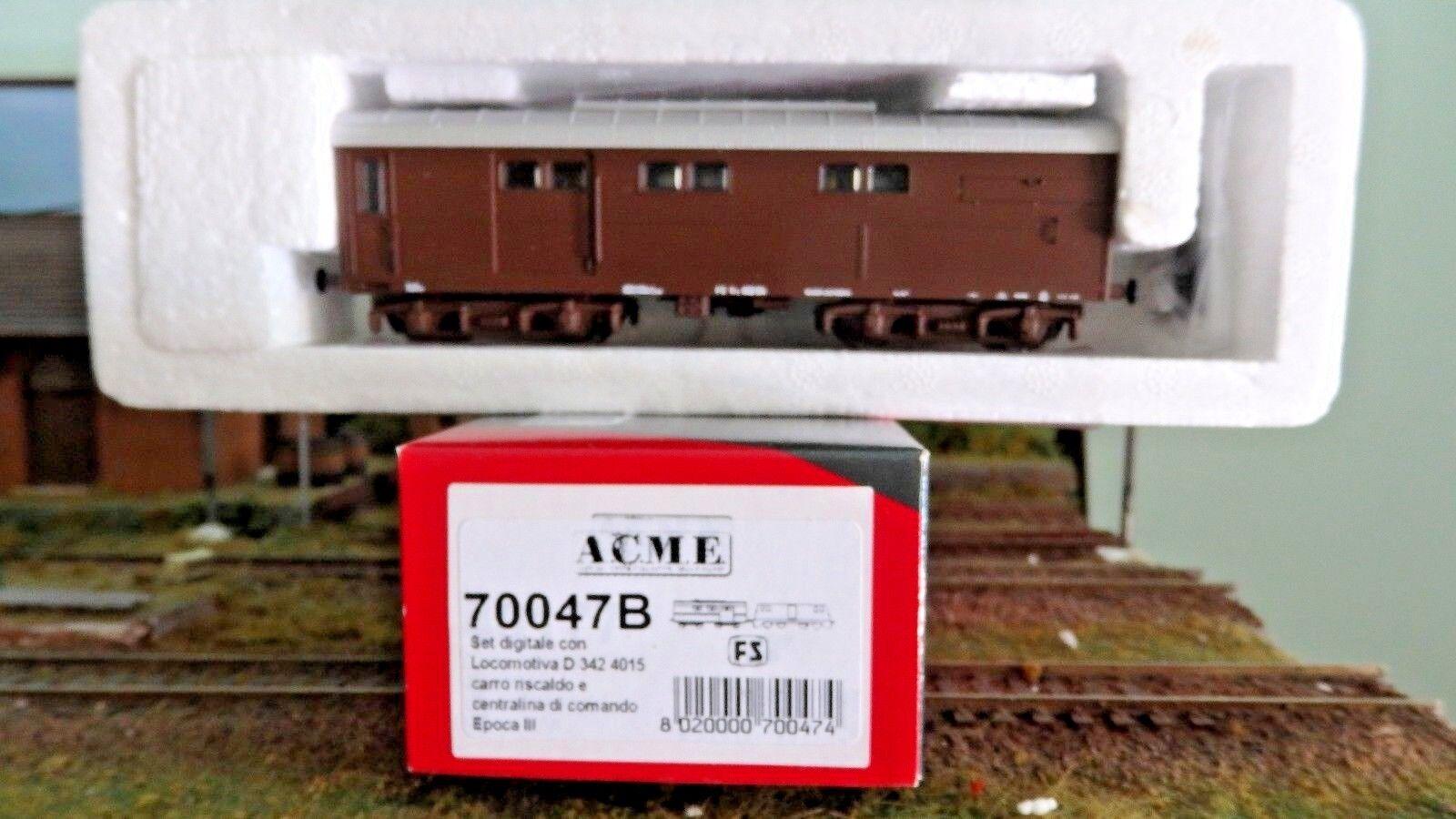 ACME 70047b Wagon reheating VRZ braun, DCC, Disp. Smoke,