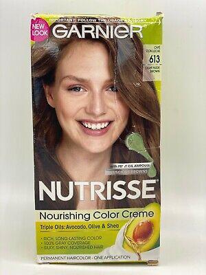 Garnier Nutrisse Nourishing Hair Color Creme, 61 Light Ash