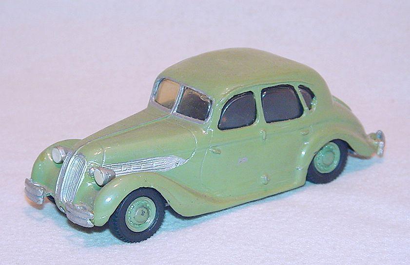 Tin Wizard 1 43 BMW 326 LIMOUSINE 1938 White Metal Kit Car Hand Built NM`78 RARE