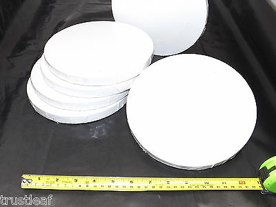 "Primed stretched canvas round CAN08R Round 8/"" 20cm circular ACRYLIC  OIL"