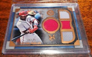 VICTOR-ROBLES-SP-75-RELIC-2019-TOPPS-MUSEUM-COLLECTION-COPPER-WS-NATIONALS