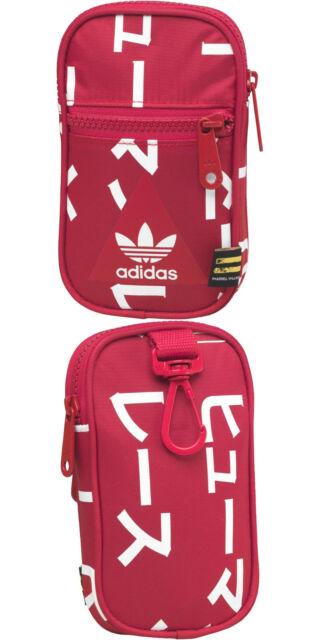 adidas Originals Pharrell Williams HU Red Trefoil Festival Bag Pouch ... 8f88f8820c9d1