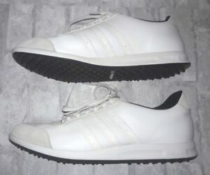 Adidas Evg 791003 Women S Training Sneakers Golf Shoes Size 8 5 M Laces White Ebay