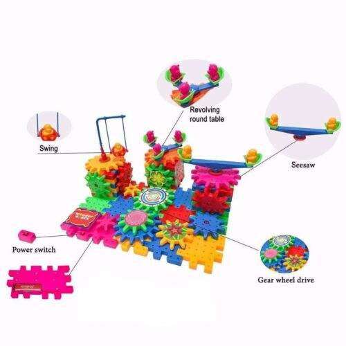 Wonder Gears Building Set 81 Pieces Age 3+ 3D Learning Puzzle Educational Toys