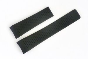24mm-CARRERA-CALIBRE-Silicon-Rubber-Band-Strap-replacement-for-TAG-Heuer