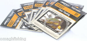 Airflo-5ft-Trout-PolyLeader-All-Densities-Trout-Fishing-Leader-Sink-Tip-Tapered