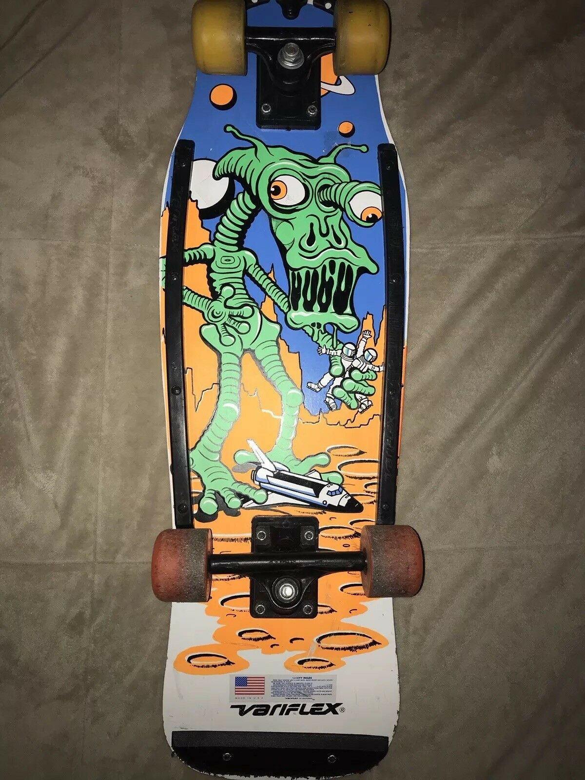 VTG Green Alien Variflex S  board Astronauts Space Shuttle Made in the USA  free delivery