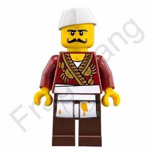 LEGO-70620-NINJAGO-Pelicula-Severin-Negro-MINIFIGURA-Solo-de-Set-70620
