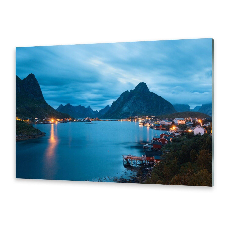 Acrylglasbilder Wandbild aus Plexiglas® Bild Lofoten Inseln