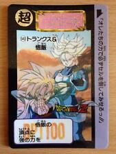 Carte Dragon Ball Z DBZ Carddass Hondan Part 13 #543 (1) Rare 1992 MADE IN JAPAN