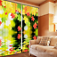 3D Leaf water 6 Blockout Photo Curtain Printing Curtains Drapes Fabric Window AU